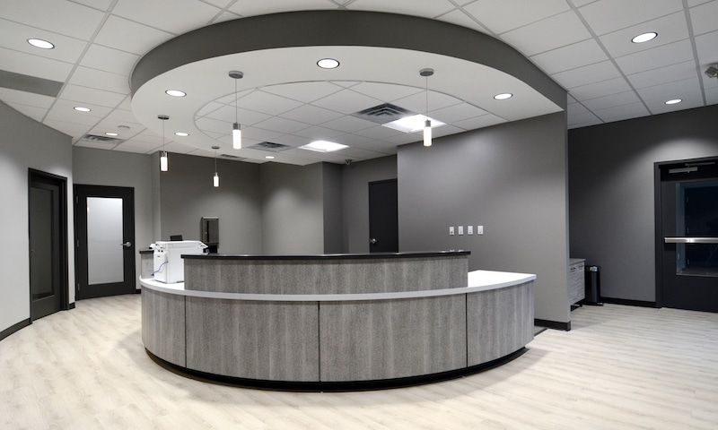 Dentist Knoxville Reception